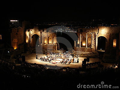 Orchestra in Taormina