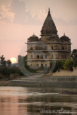 Orchha - Bundela Cenotaphs - India