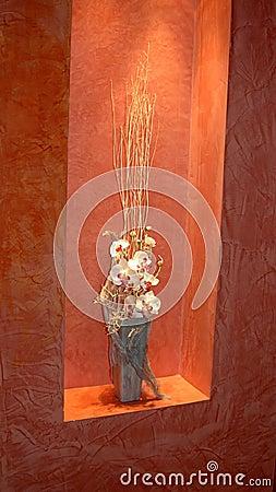 Orchids composition.
