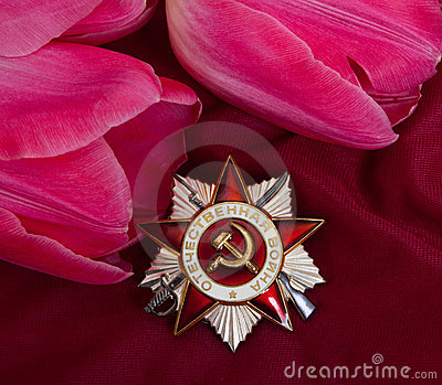 Order of Patriotic Ward and flower.