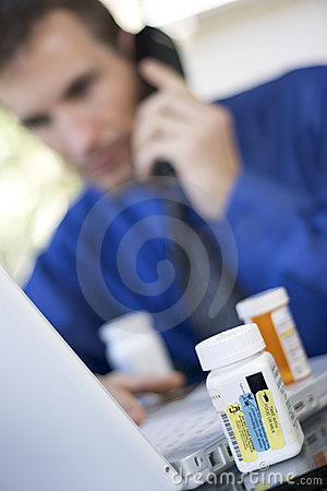 Free Ordering Medicine Online Stock Photos - 163563