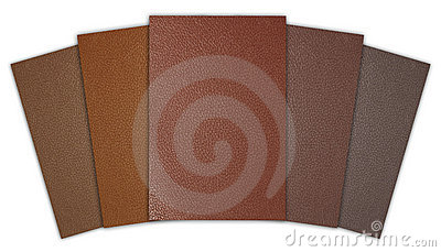 Orderly leather texture