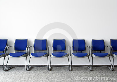Ordinary waiting room