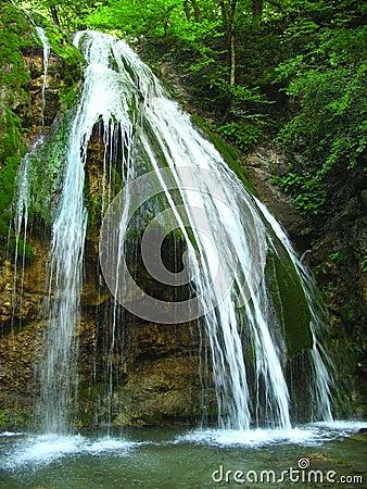 An ordinary waterfall