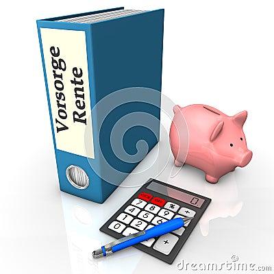 Ordner-Versicherungs-Pension