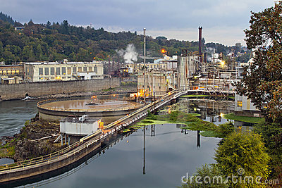 Oregon City Electricity Power Plant
