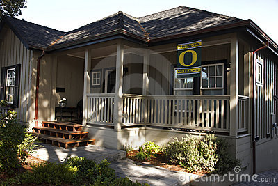 Oregon Ducks, Monterey, California Editorial Photography