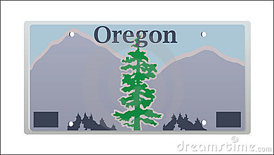 Oregon License Plate Stock Photography Image 11236422