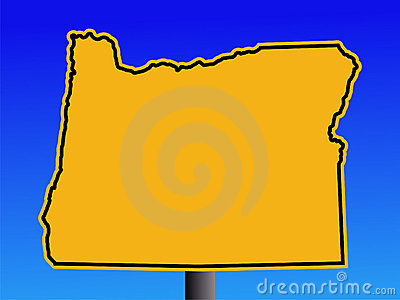 Oregon warning sign