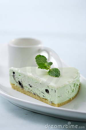 Oreo mint cheese cake