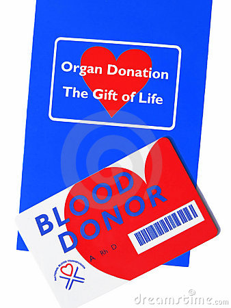 Free Organ & Blood Donor Info. Royalty Free Stock Images - 267389