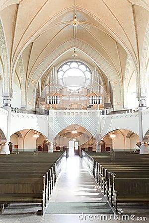 Free Organ Of Old Church Stock Photos - 14379753