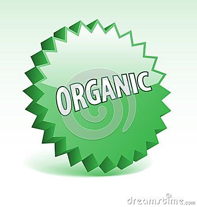 Organic badge.