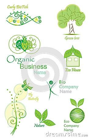 Organic&Bio vector collection
