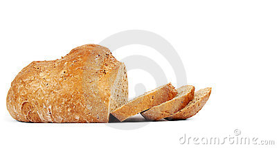 Organic bread with seeds