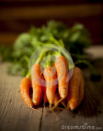 Organic carrots.
