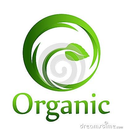 Free Organic Circle Logo Royalty Free Stock Photo - 29835355