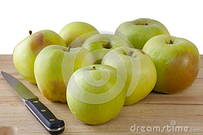 Organic Cooking Apples