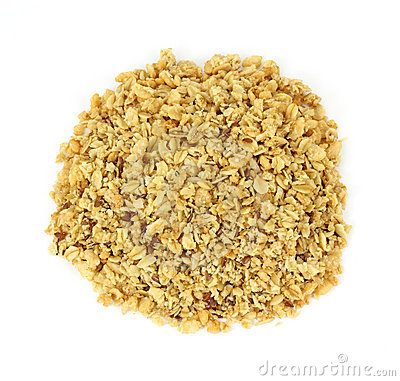Free Organic Flax Seed And Hemp Granola Cereal Stock Images - 16037434