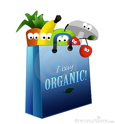 Organic food healthy