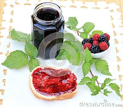 Organic fruit marmalade