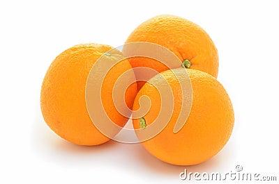 Organic navel oranges
