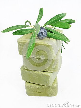 Free ORGANIC OLIVE SOAPS Royalty Free Stock Photo - 37827695