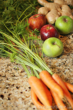 Organic produce for juicing