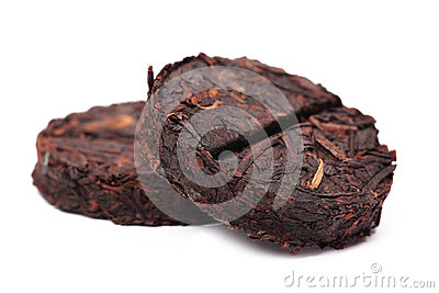 Organic raw Puer tea Chinese.