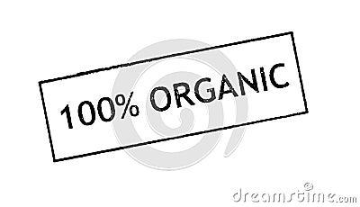 100  Organic  rubber satamp print