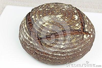 Organic Rye Bread Loaf