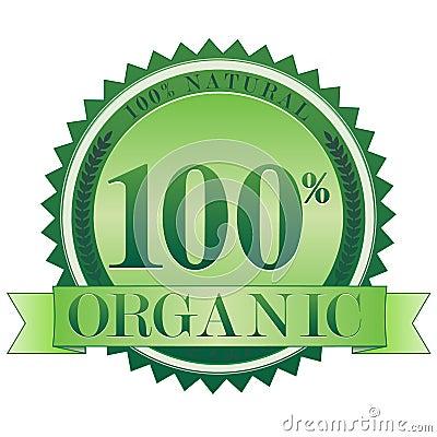 Free Organic Seal EPS Royalty Free Stock Photo - 15918865