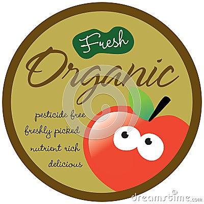 Organic Sticker/Label