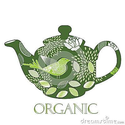 Organic teapot