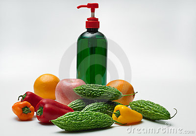 Organic vegetable wash