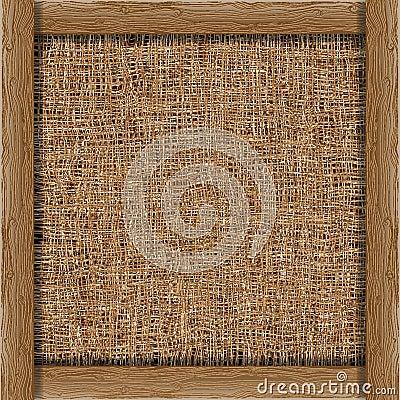 Organic weave background