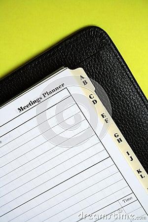 Organise: meetings
