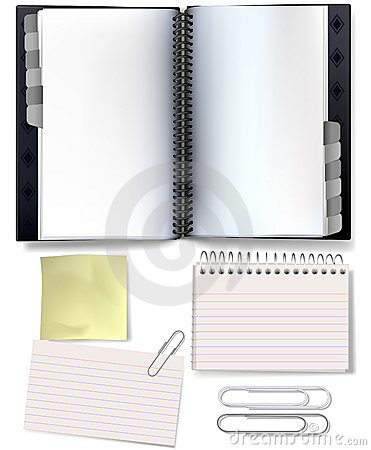 Free Organising Stationery Stock Photo - 3340780