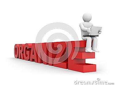 Organize concept