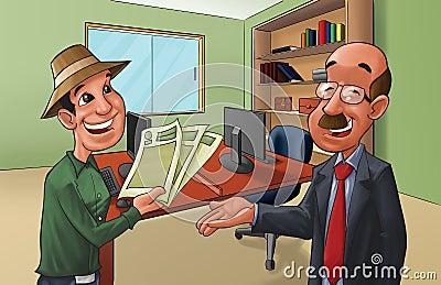Organized client