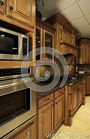 Organized luxury  kitchen