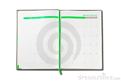 Organizer note book