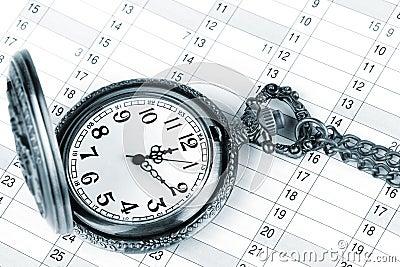 Organizer and pocket watch