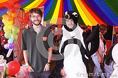 Orgullo alegre 2011 de Bristol Imagen de archivo editorial