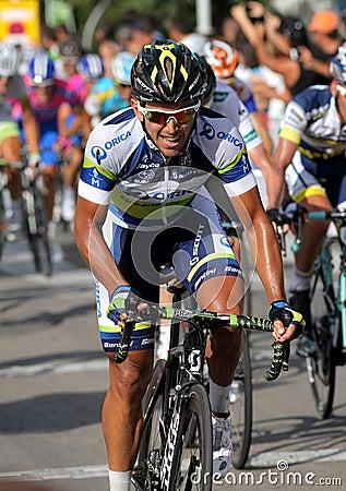 Orica Greenedge Australian cyclist Allan Davis Editorial Stock Photo
