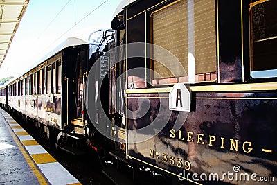Orient Express, Sleeping Wagon Editorial Photo