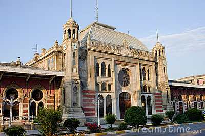 Orient Express Station in Istanbul