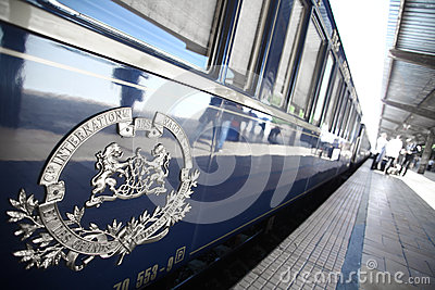 Orient Express train Editorial Photo