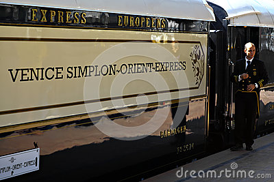 Orient Express train Editorial Image
