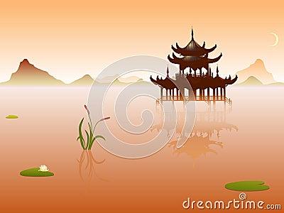 Orient temple
